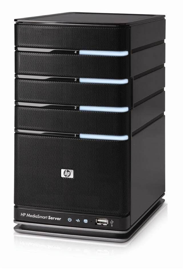Hp's MediaSmart Server EX490 boasts powerful backup features for home and office sharing