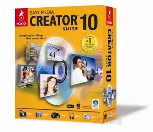Roxio Easy Media Creator Software