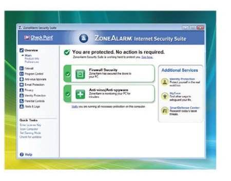 ZoneAlarm Internet Security Suite 2009, the good and bad
