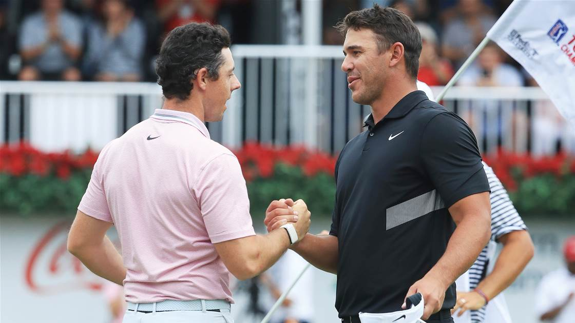 Ogilvy: Rory would swap his year for Tiger's but not Koepka's