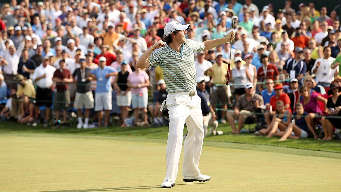 Round to remember: Rory, Rory hallelujah