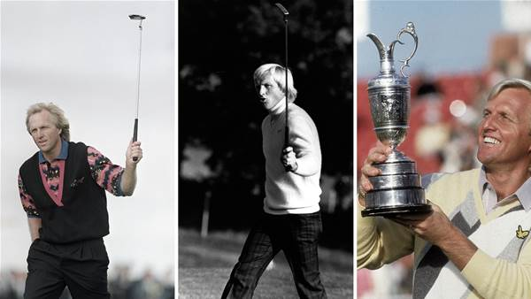 WATCH: Five of the best … Greg Norman victories