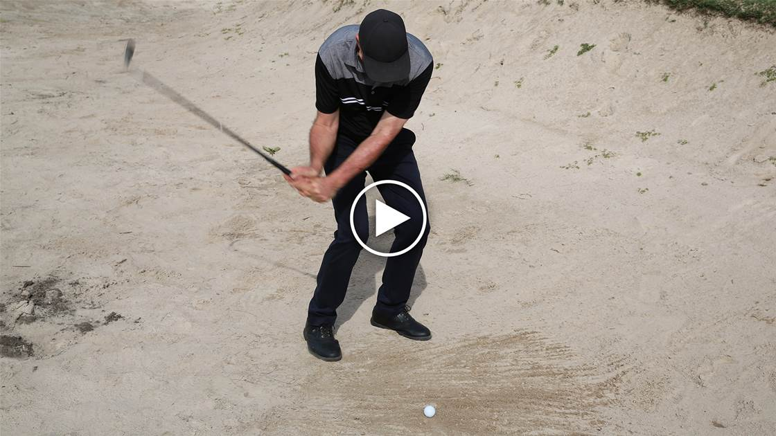 Video tip: Good bunker shots are all about speed