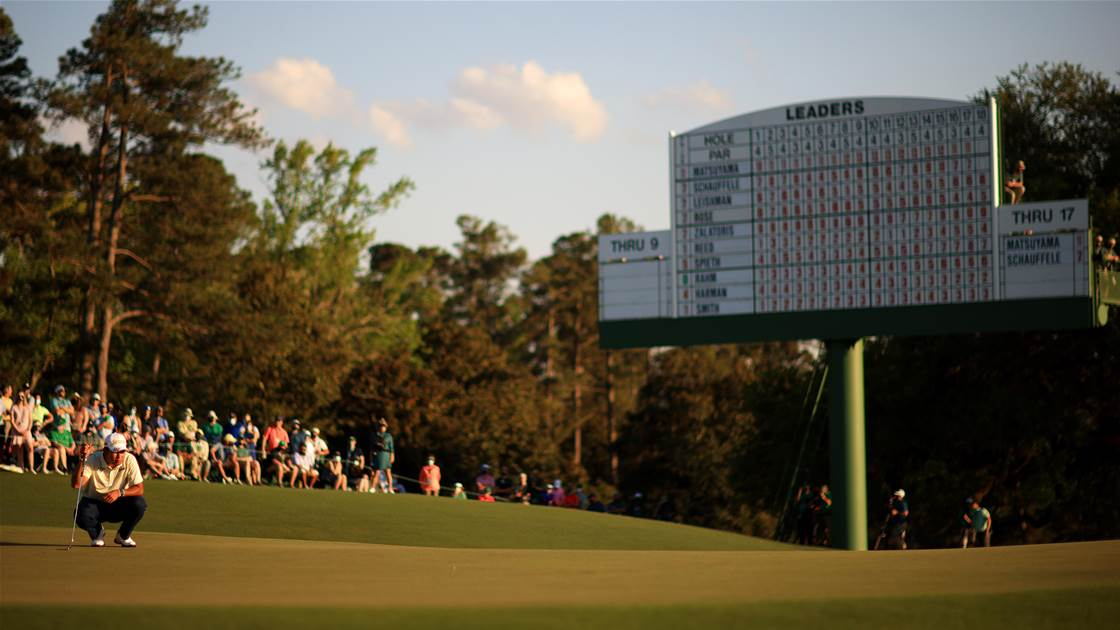 Morri: Augusta National changing the game once again