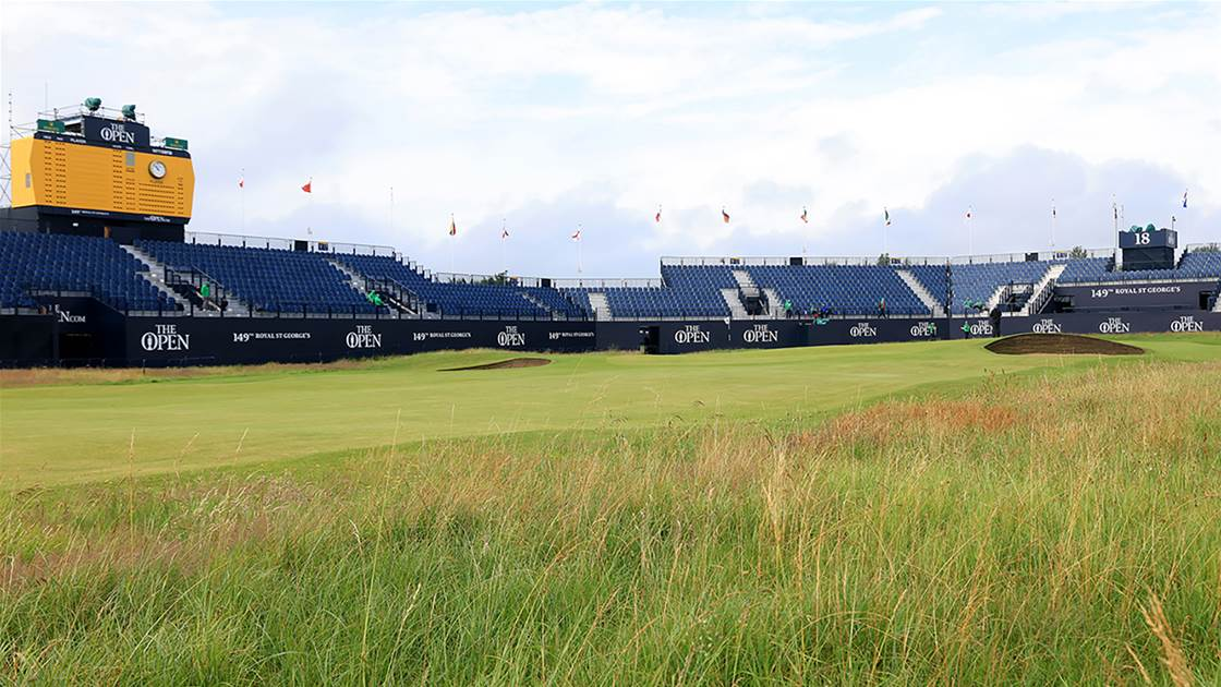 Royal St.George's is not everyone's cup of tea
