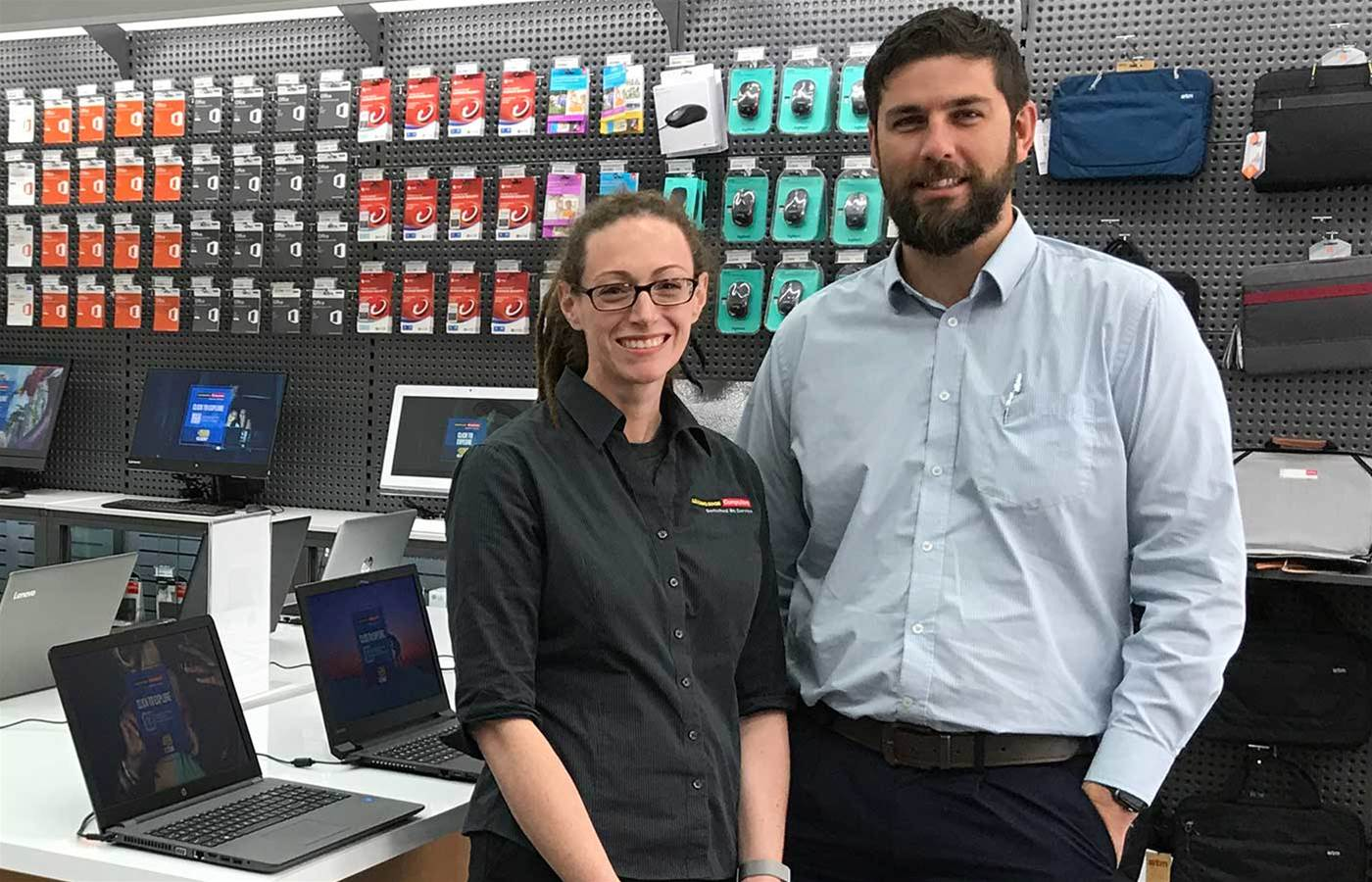 Leading Edge Computers Griffith has quadrupled in size over eight years