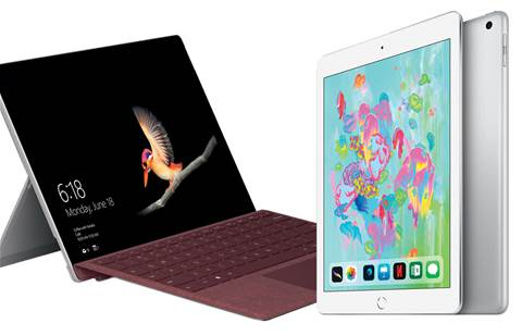 Hands-on: iPad vs Surface Go (vs a normal laptop)