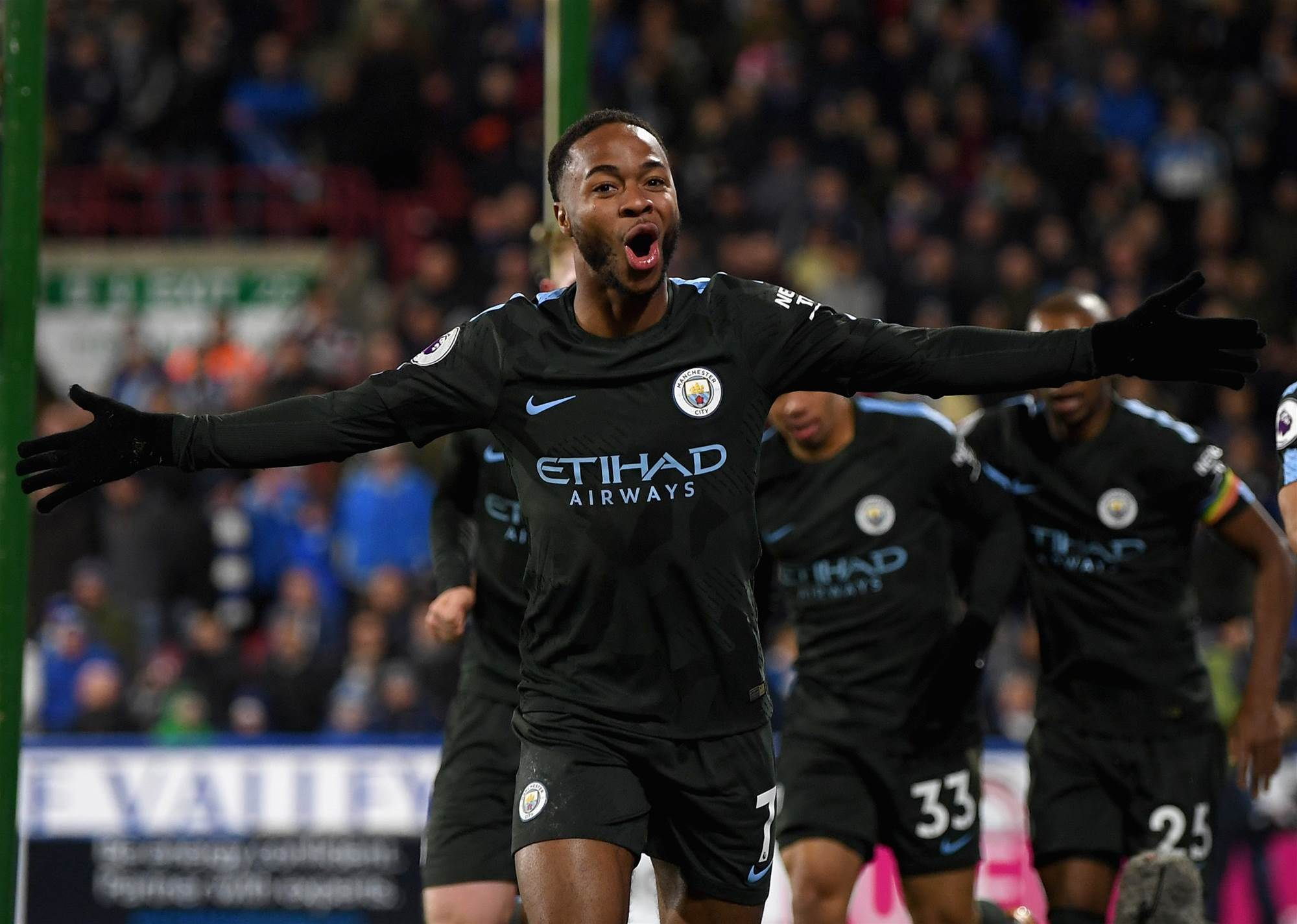 While You Were Sleeping - Manchester City down Huddersfield Town