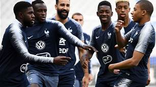 France Beat Ireland 2-0 at home in pre-World Cup friendly