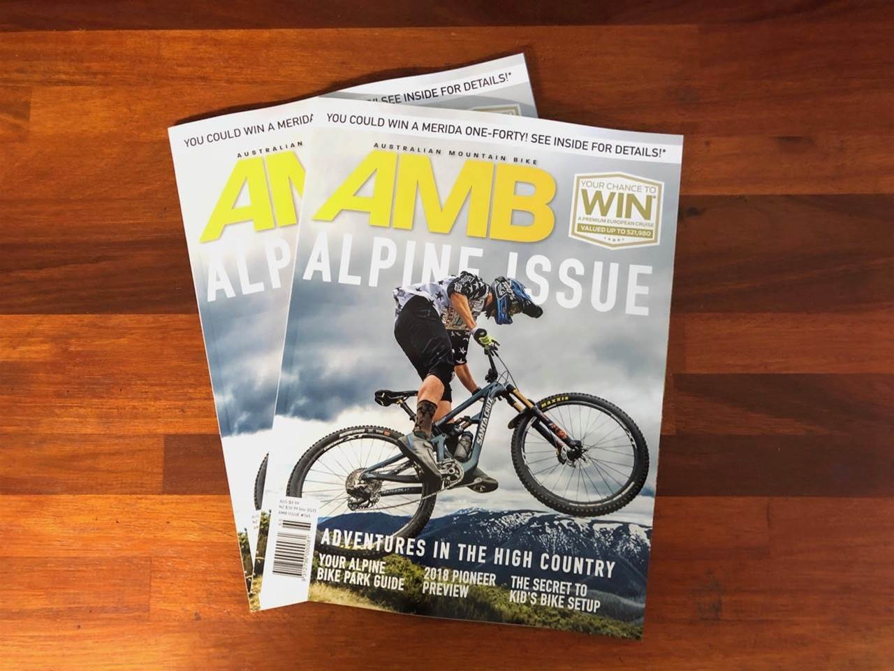 In this Issue: AMB #165, the Alpine Issue