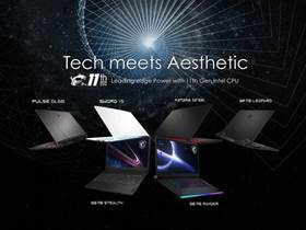 MSI's launches latest laptops: Tech meets aesthetic