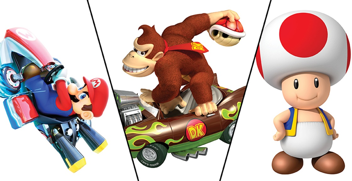 Who is your go-to in Mario Kart?