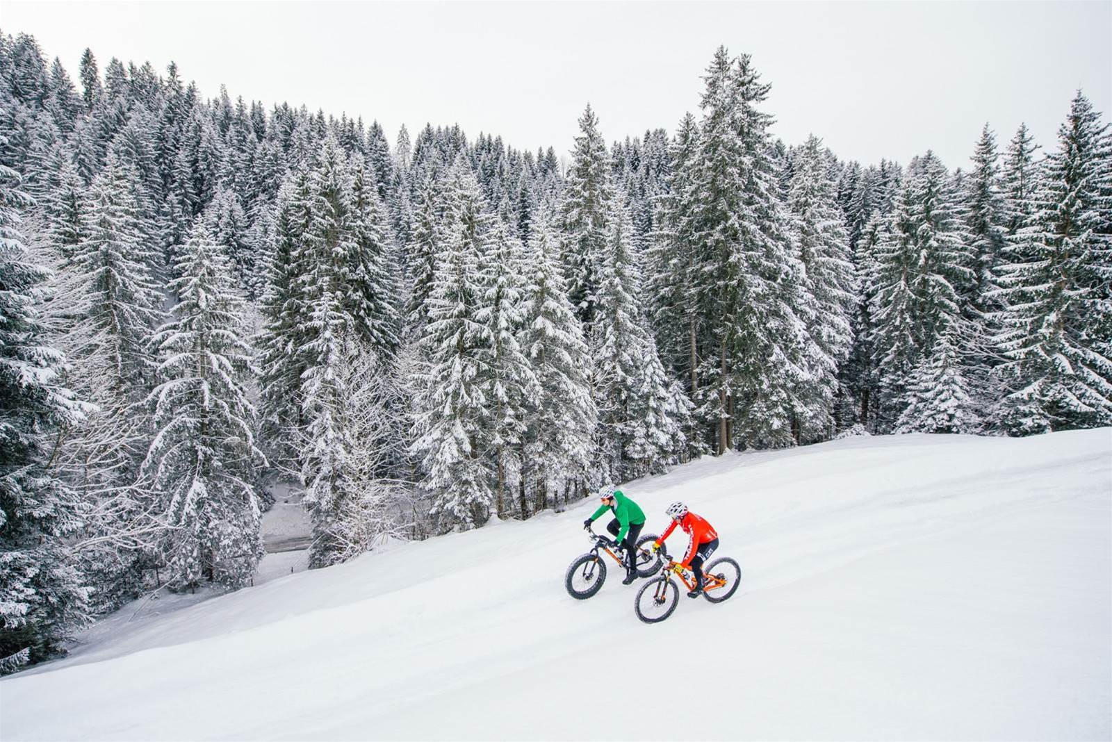 7 things I learnt riding in snow