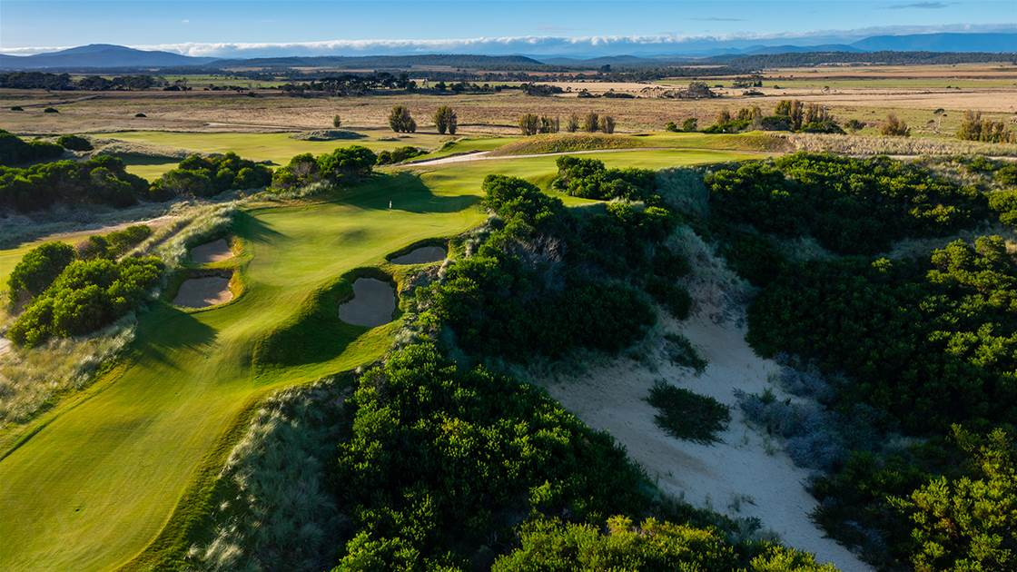 Born To Run: The story of Barnbougle's newest course