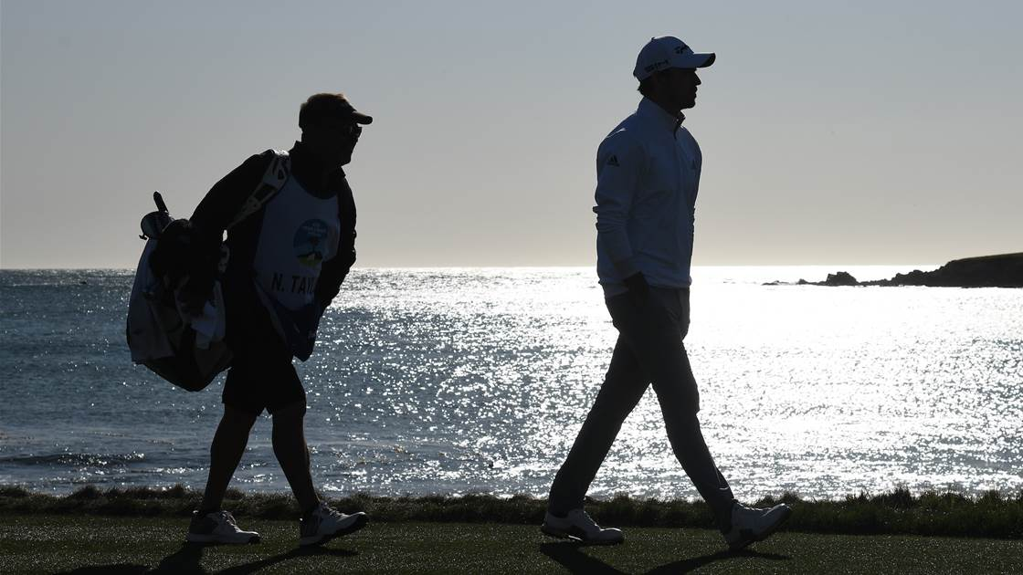 Caddying on Tour ... what it's really like