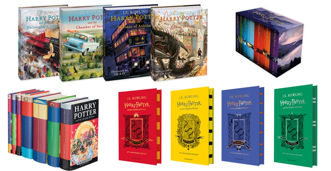 Do you love the Harry Potter books?