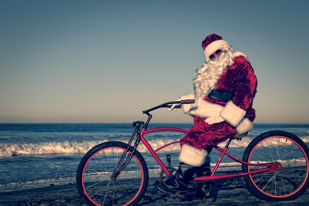 The best response to every weird cycling question this Christmas
