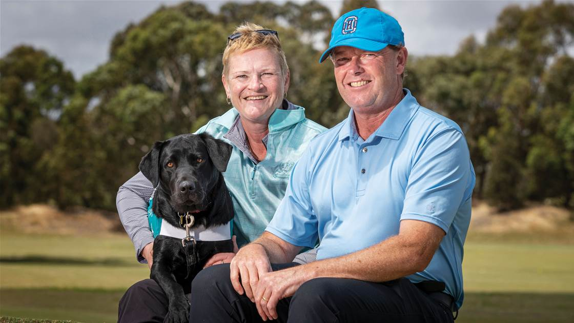 Exclusive: Golf's Healing Hands