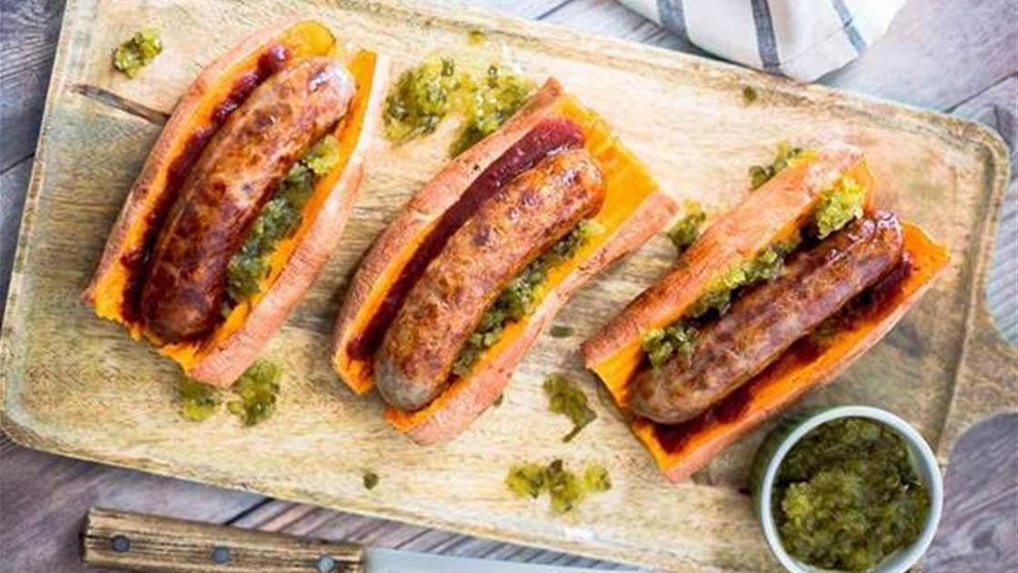 6 genius bun-free burger & sausage sizzle ideas