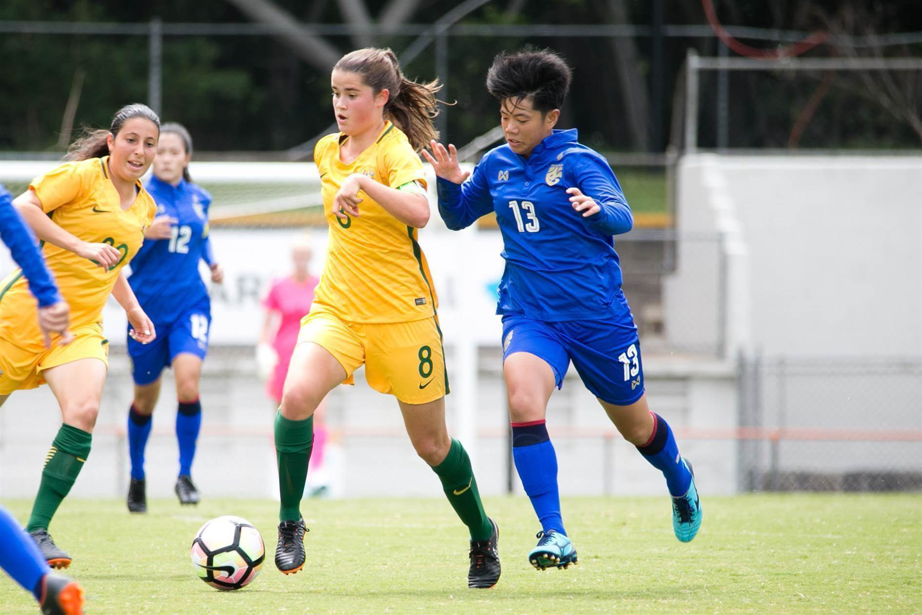 Gallery: Young Matildas vs Thailand U19
