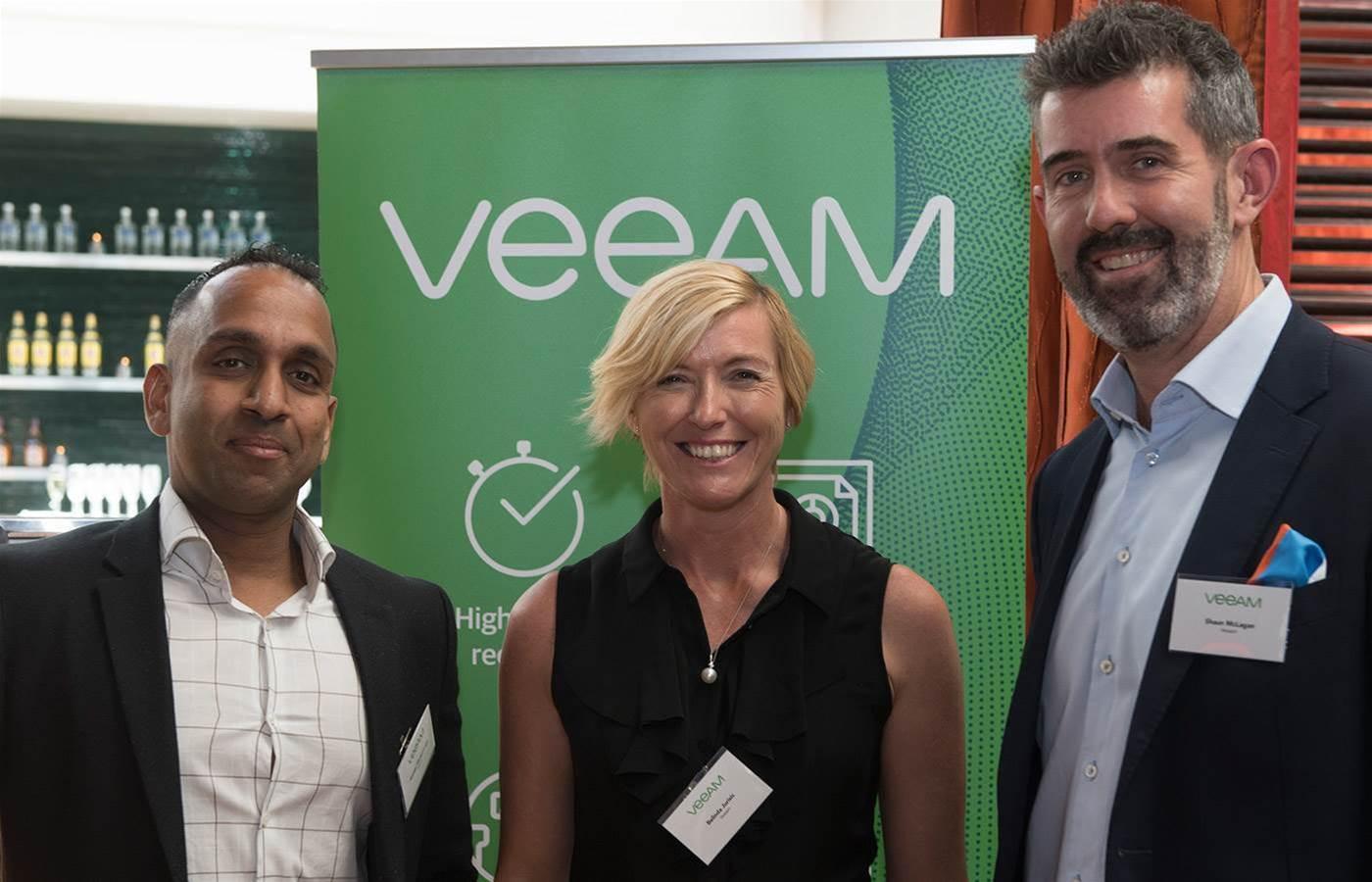Veeam's Australian partners celebrate in Sydney