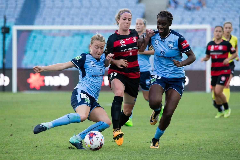 W-League pic special: Western Sydney Wanderers v Sydney FC