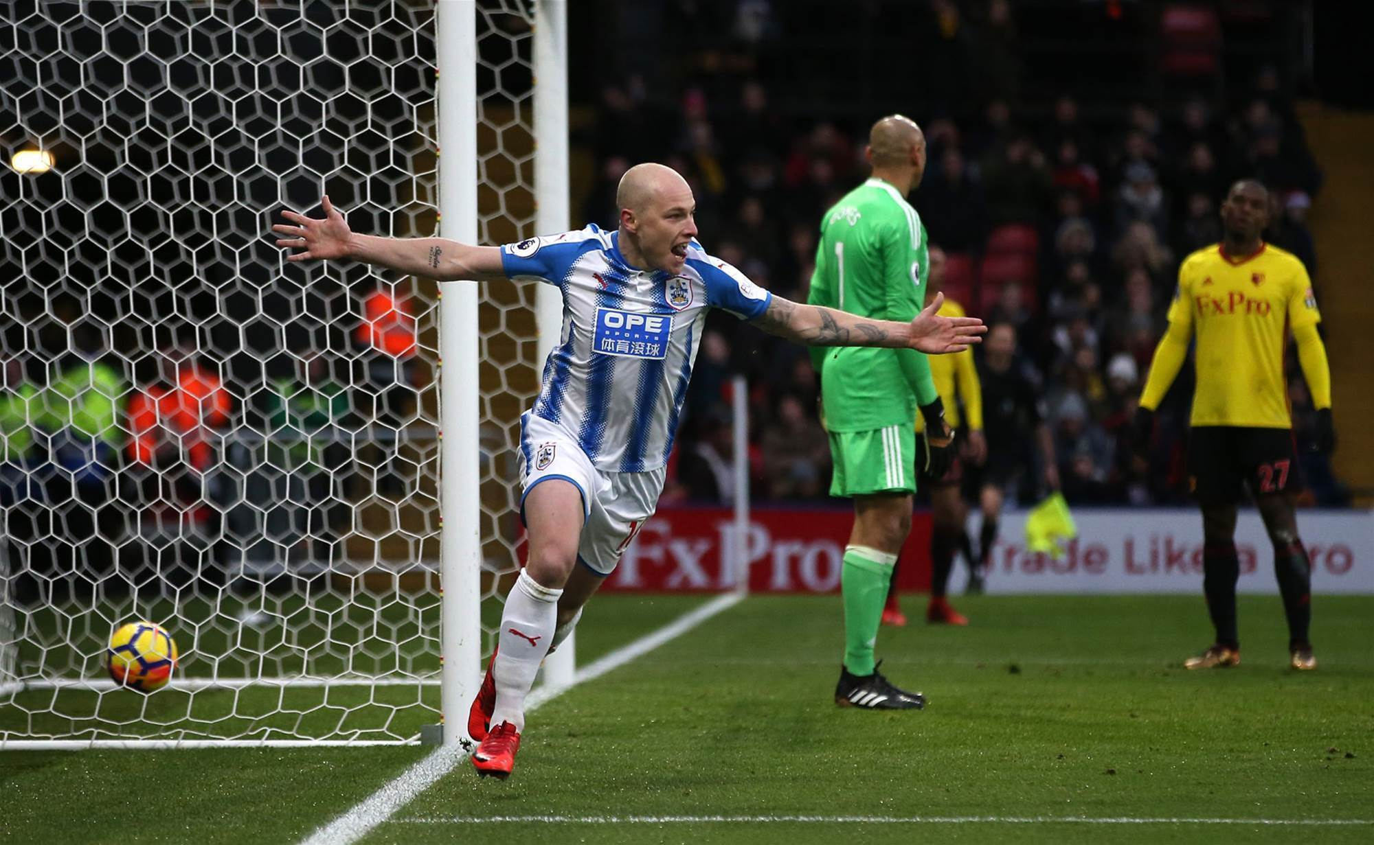 Absolute scenes: Aaron Mooy brace pic special
