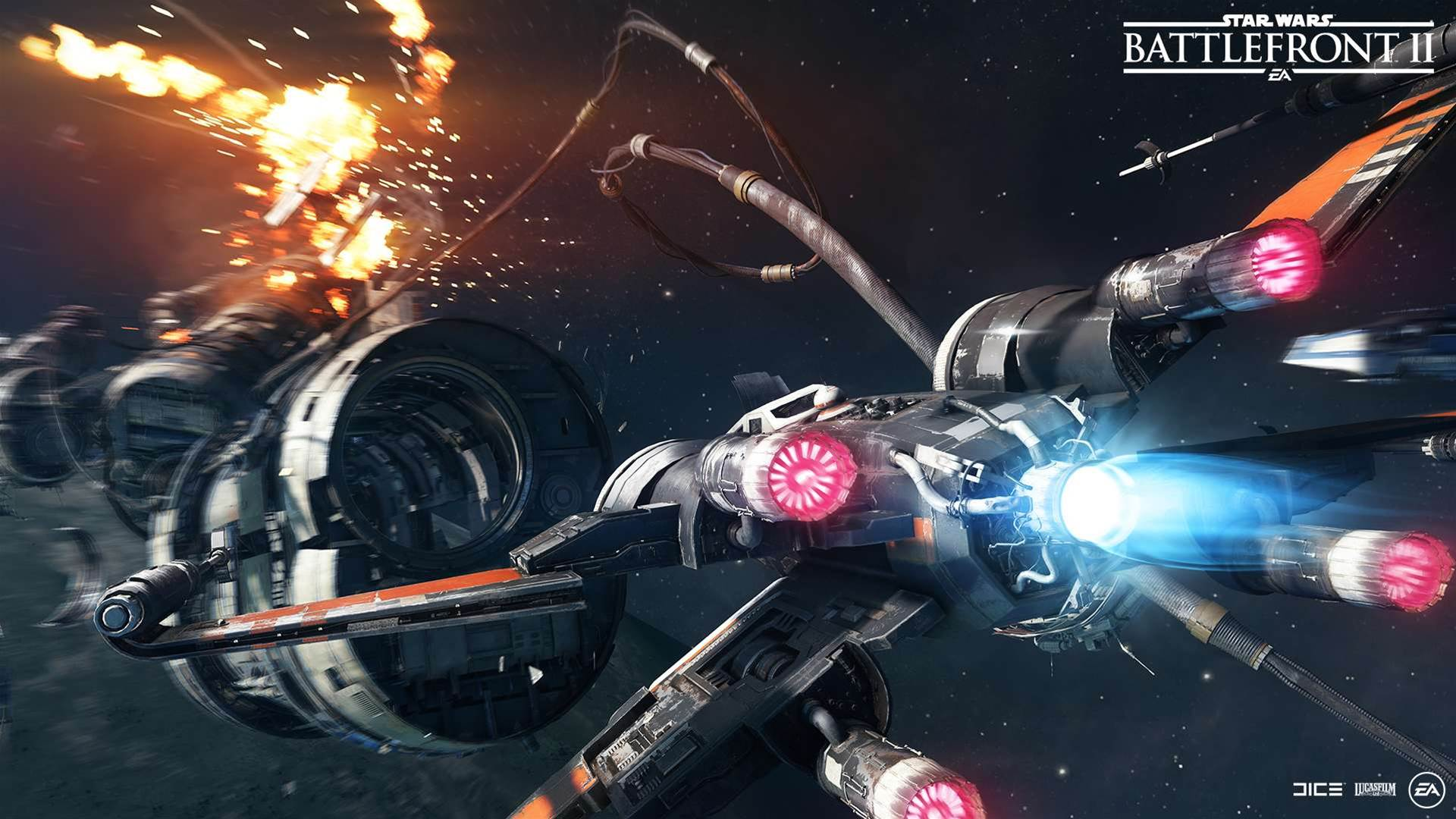 Star Wars Battlefront II The Last Jedi DLC screenshots
