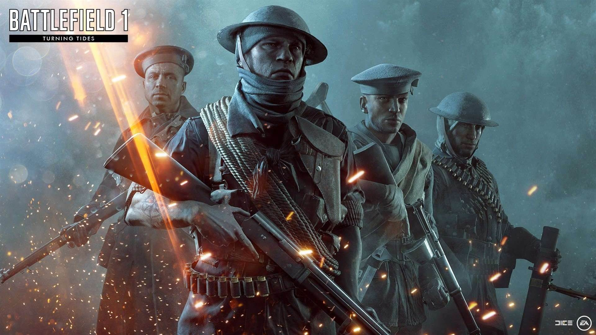 The tides they are a-turnin' in these Battlefield 1 Turning Tides screens