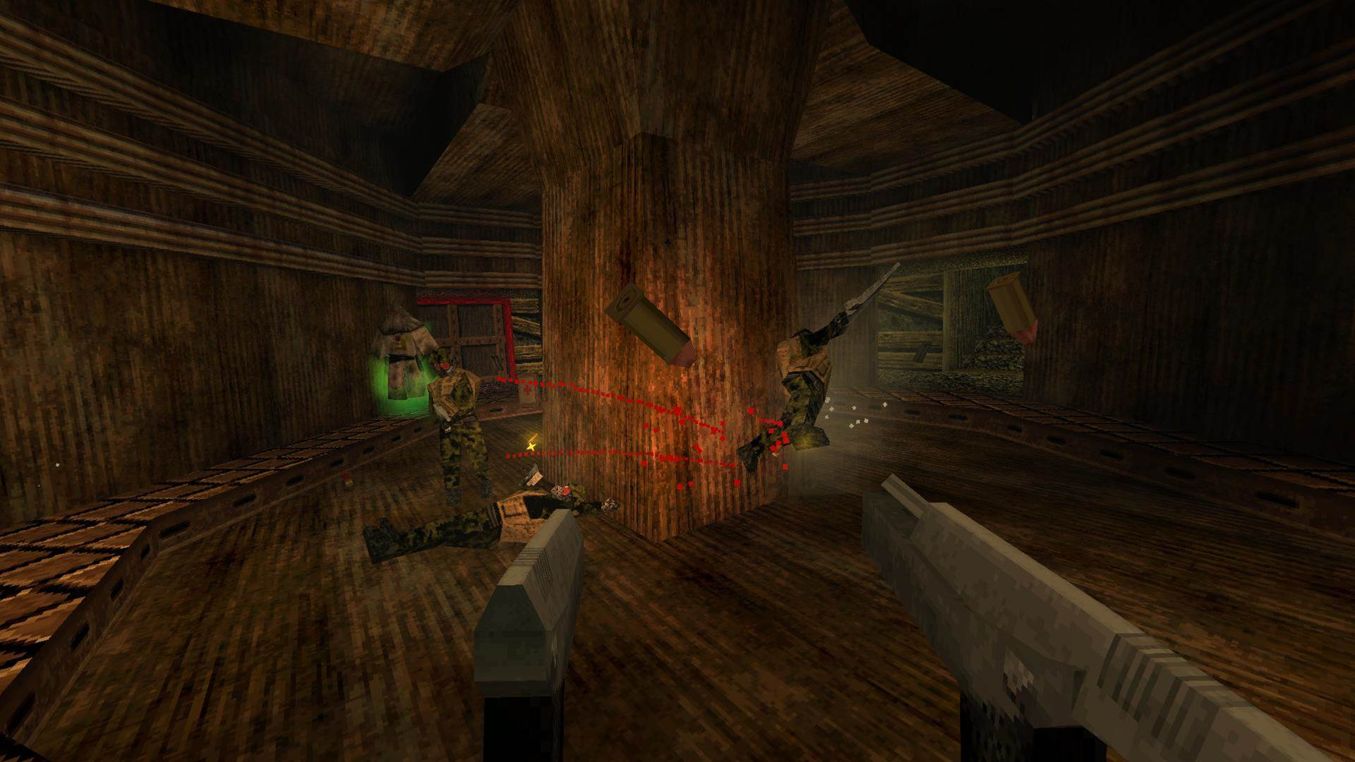 Survive till dawn with these moody Quake-like Dusk screens