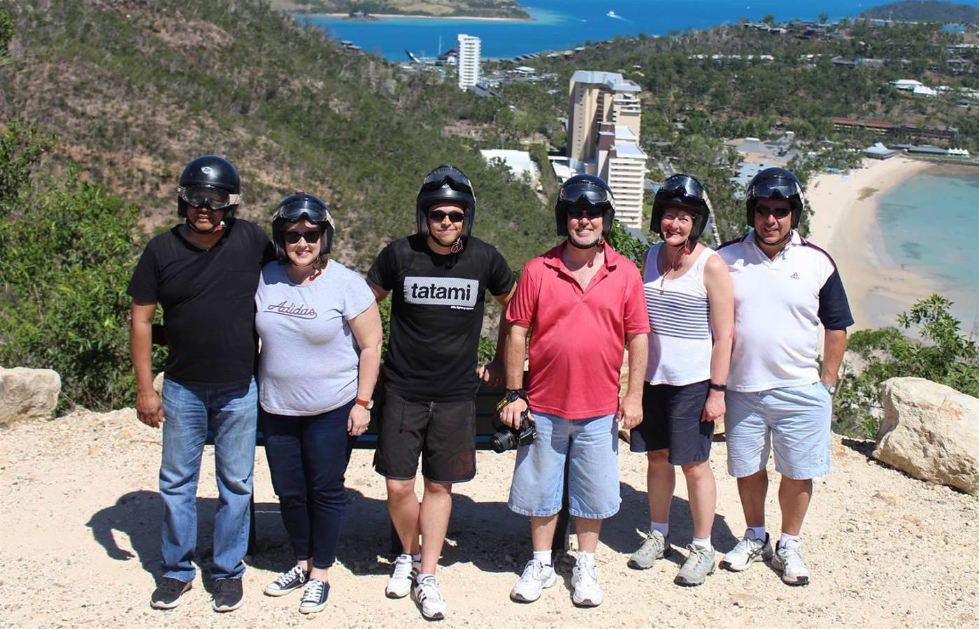 Brother Australia rewards partners with island getaway