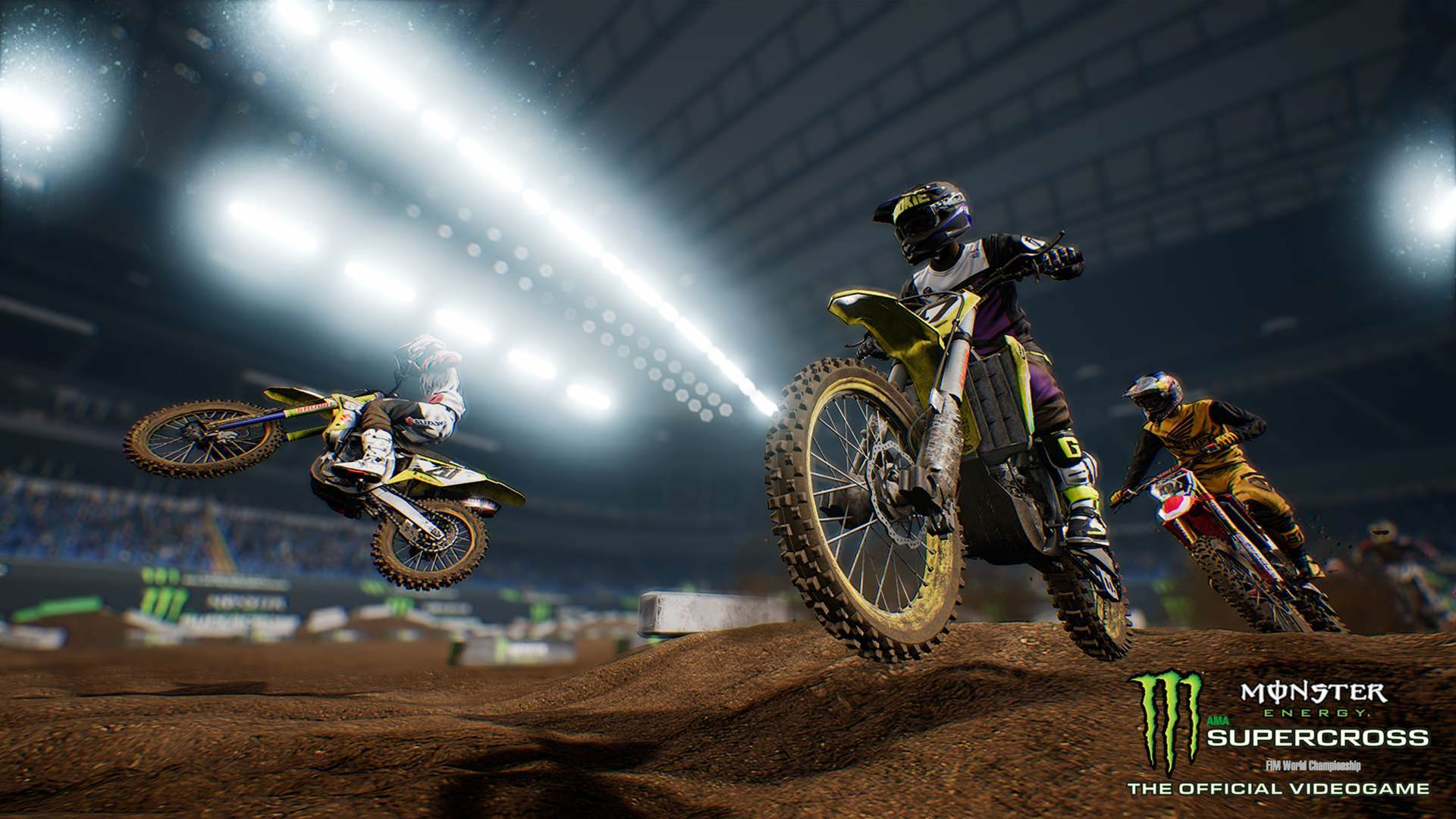 On ya bike for these Monster Energy Supercross - The Official Videogame screens