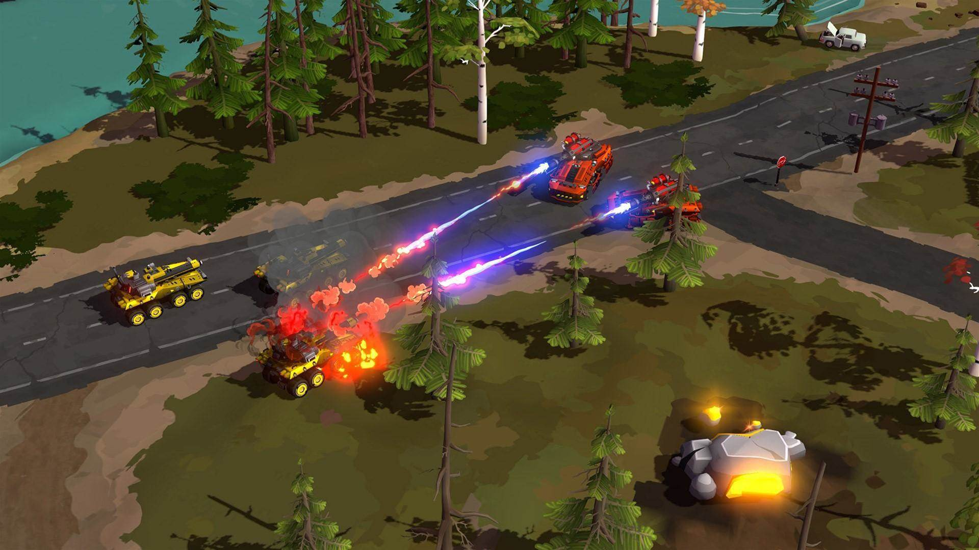 Command and conquer these Forged Battalion screens