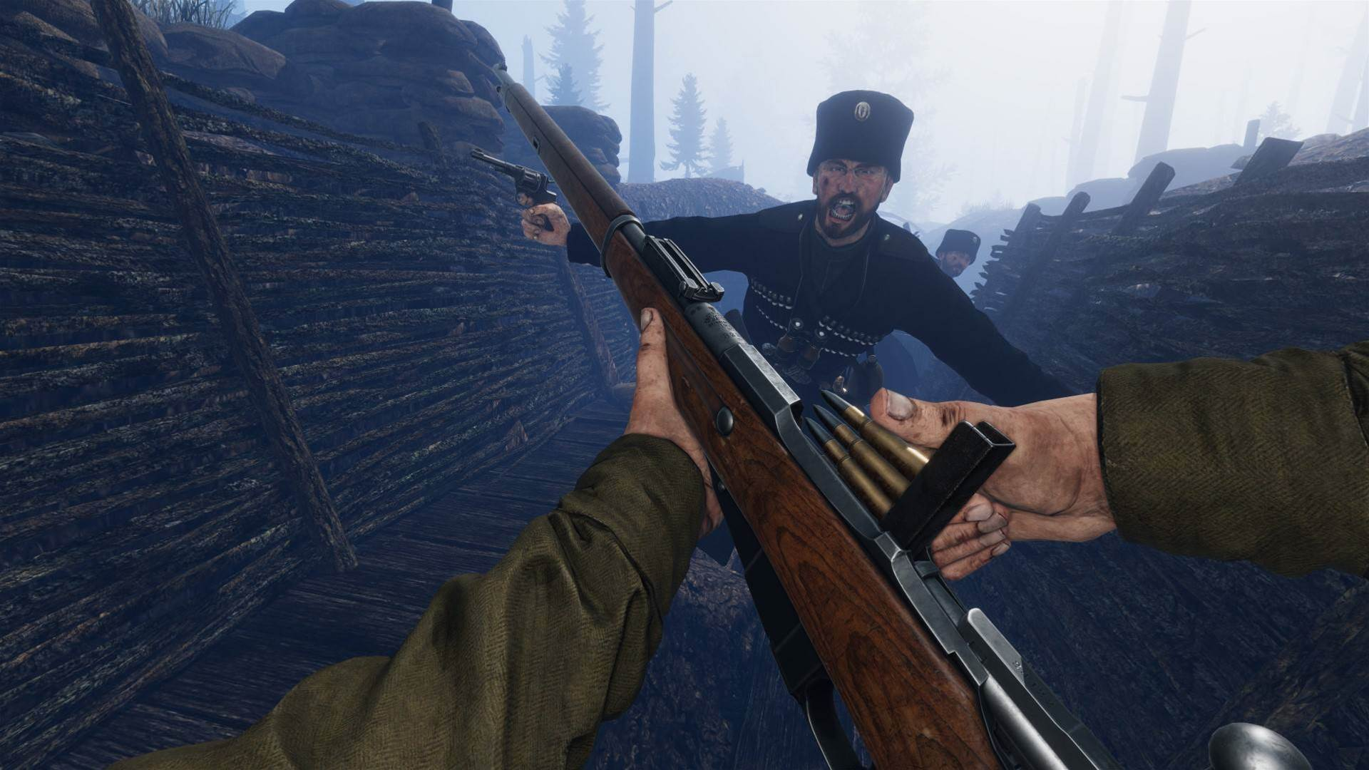 Charge into these muddy, bloody Tannenberg screens