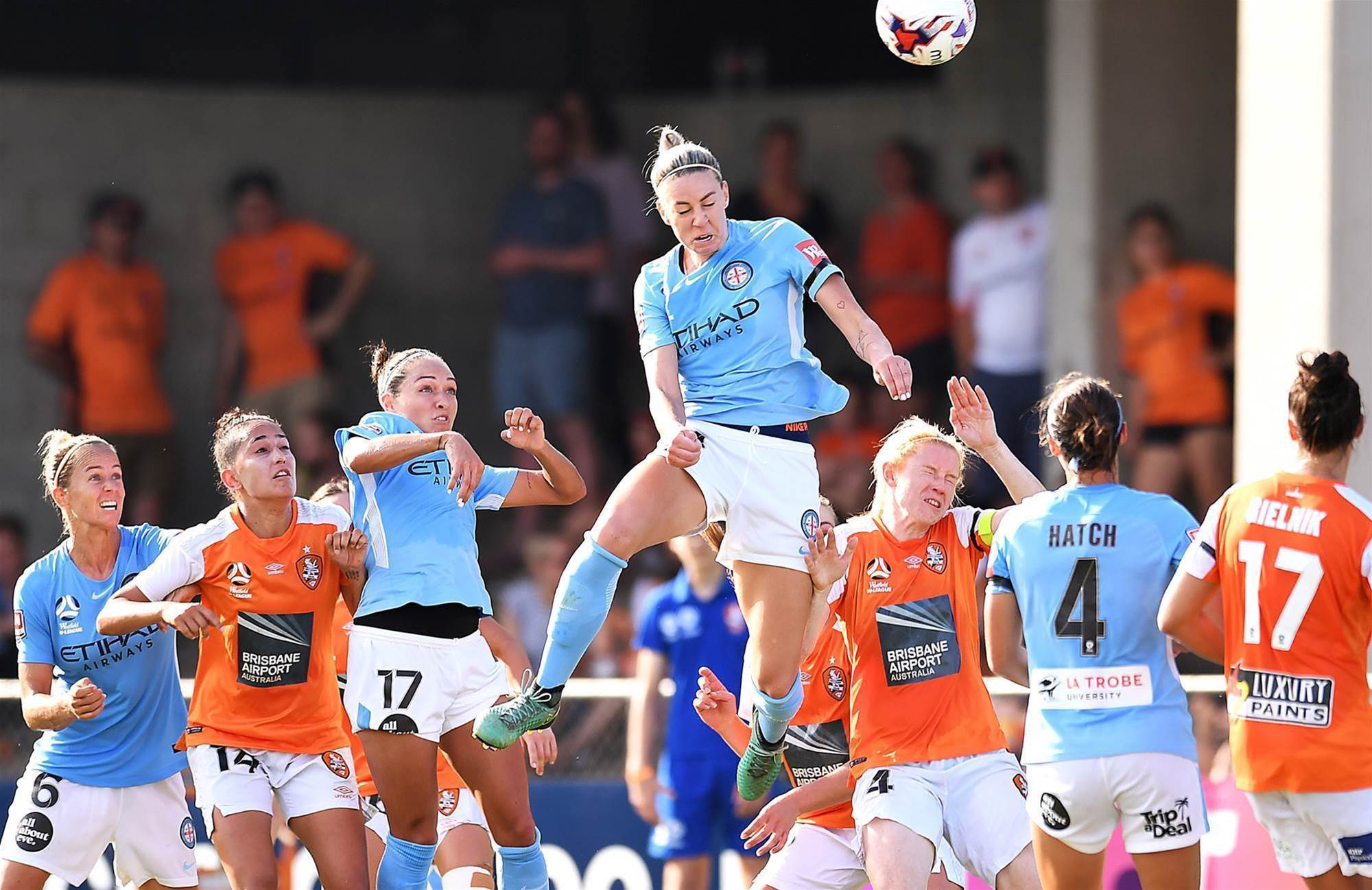 Pic special: Epic W-League semi-finals action
