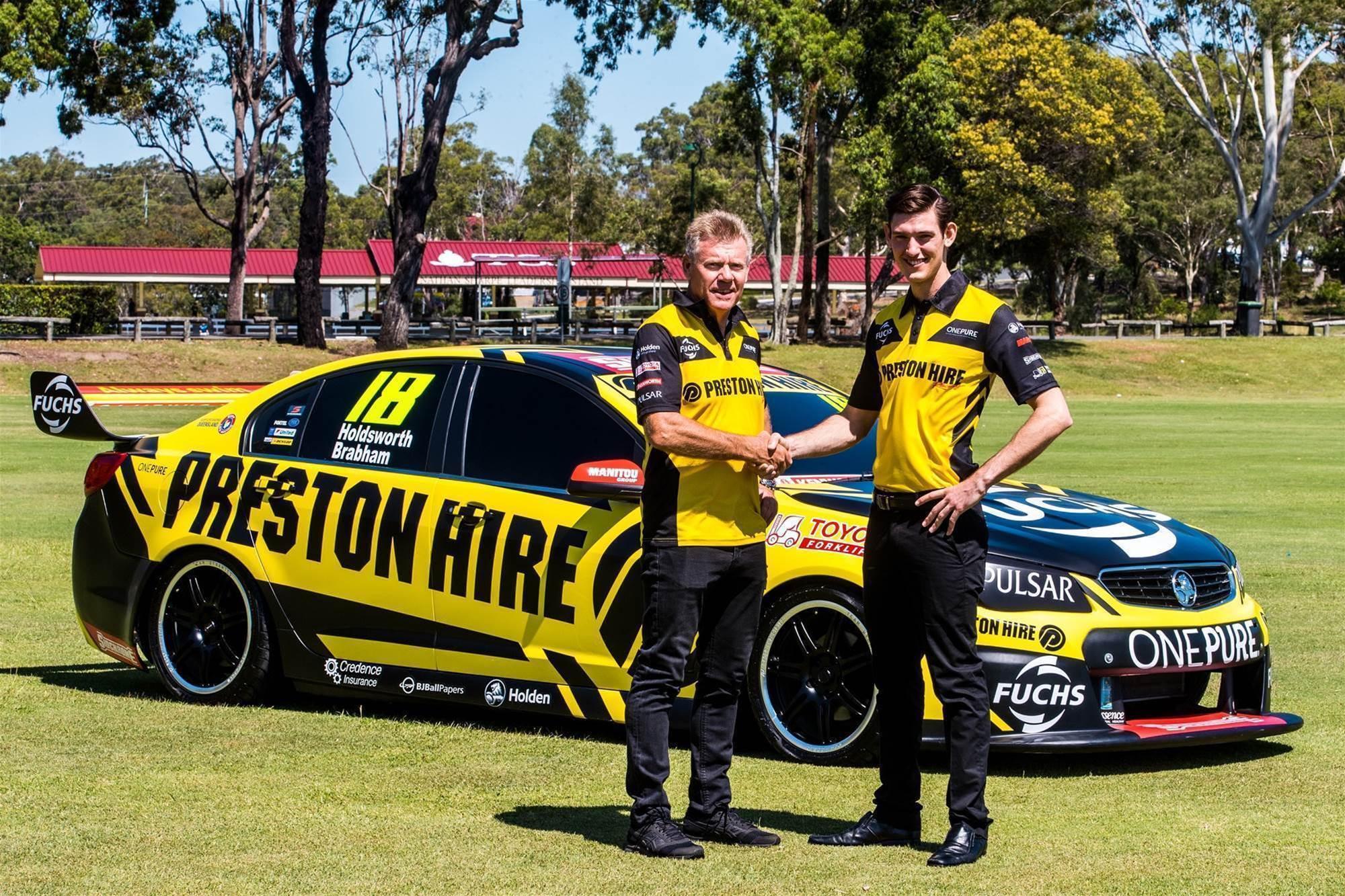 Pic gallery: Matt Brabham joins Preston Hire Racing