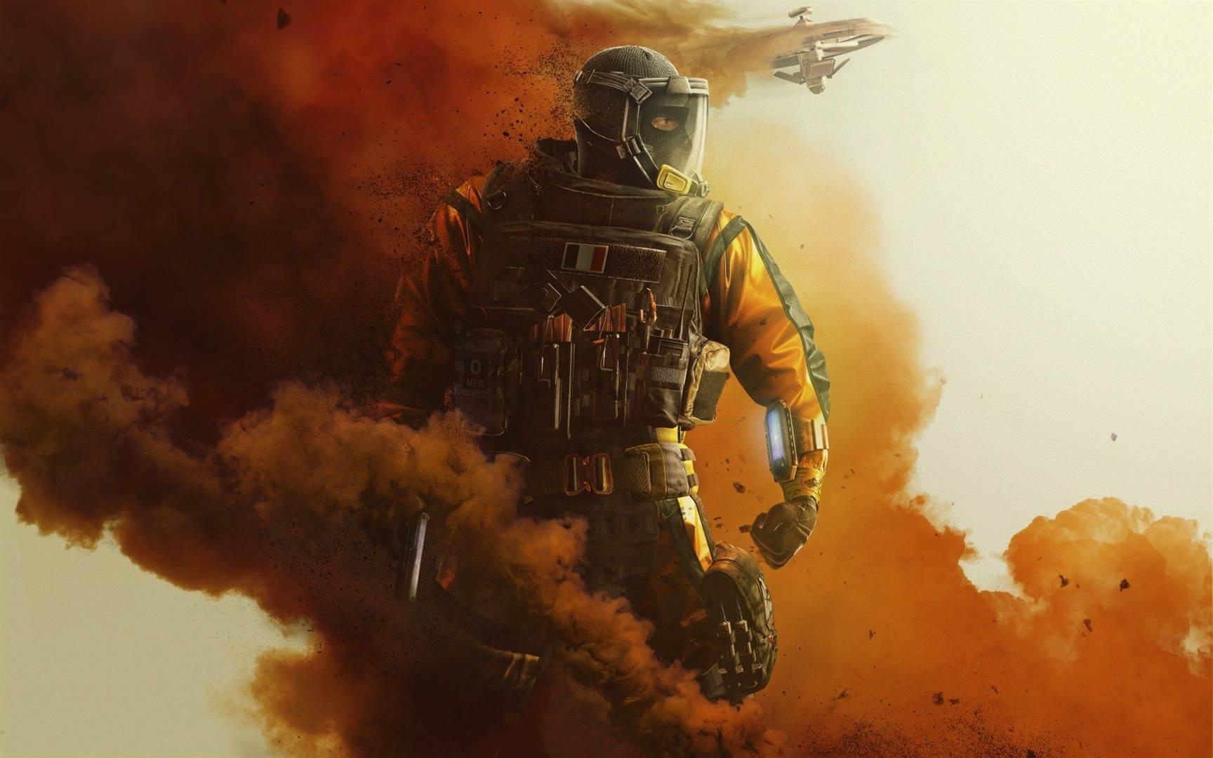 Sick artwork for Rainbow Six Siege Operation Chimera