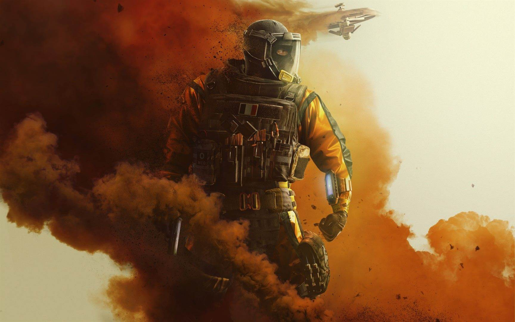 Sick artwork for Rainbow Six Siege Operation Chimera