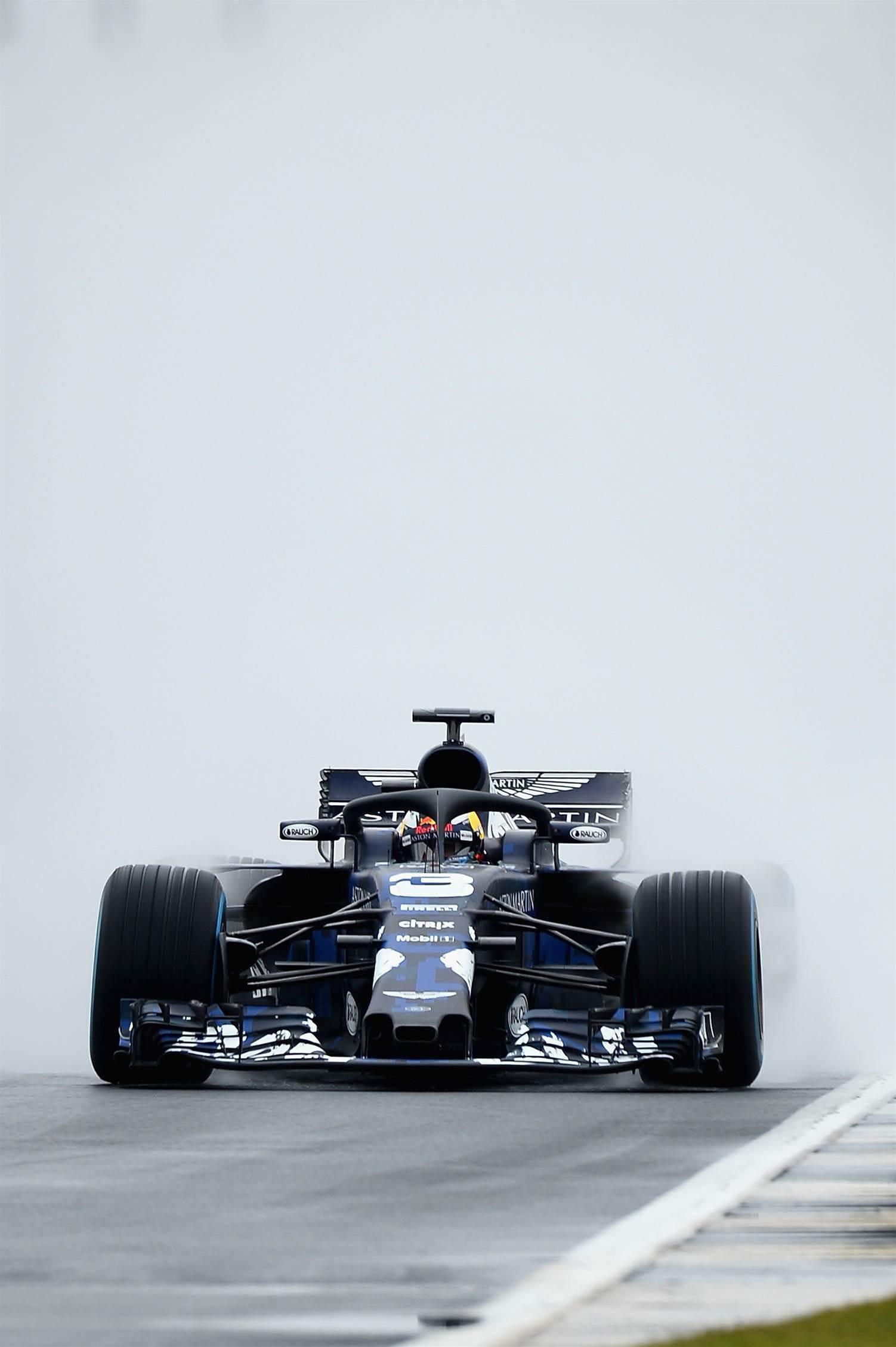 Ricciardo's 2018 Red Bull racer