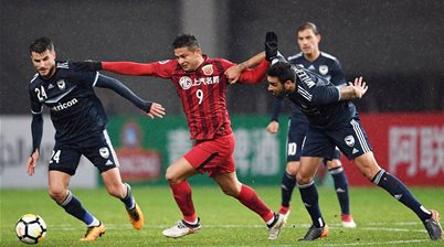 Shanghai SIPG v Melbourne Victory pic special