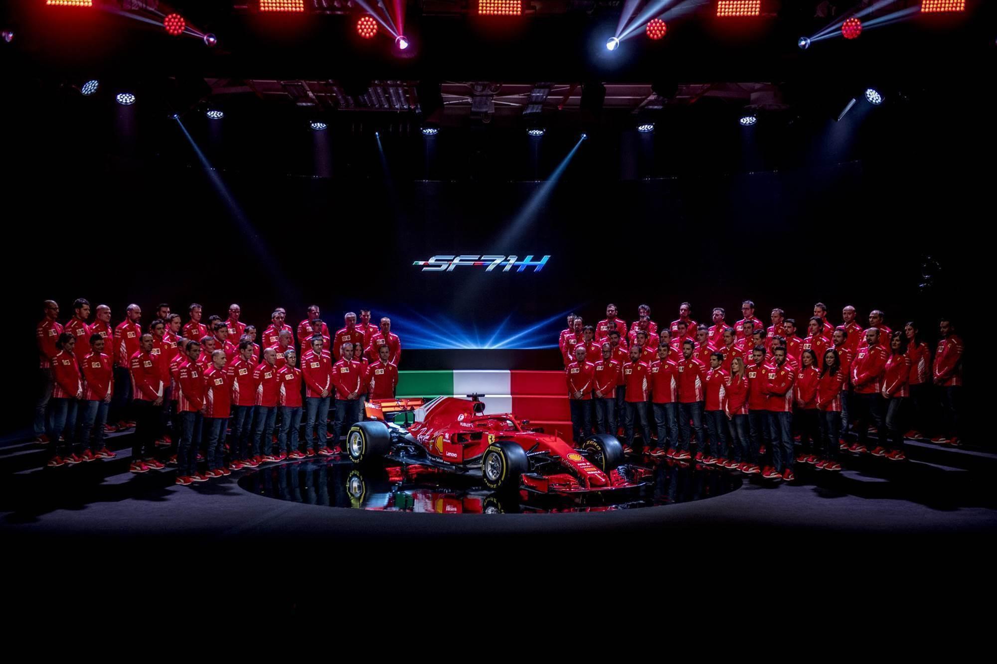 Pic gallery: Ferrari F1 launch