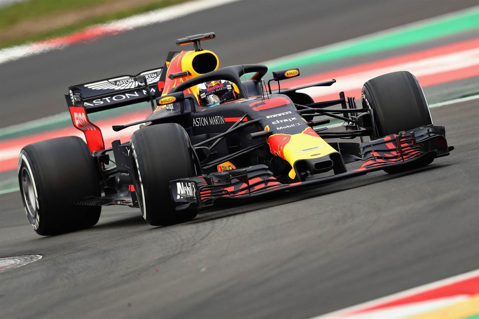Ricciardo tops times on opening practice day