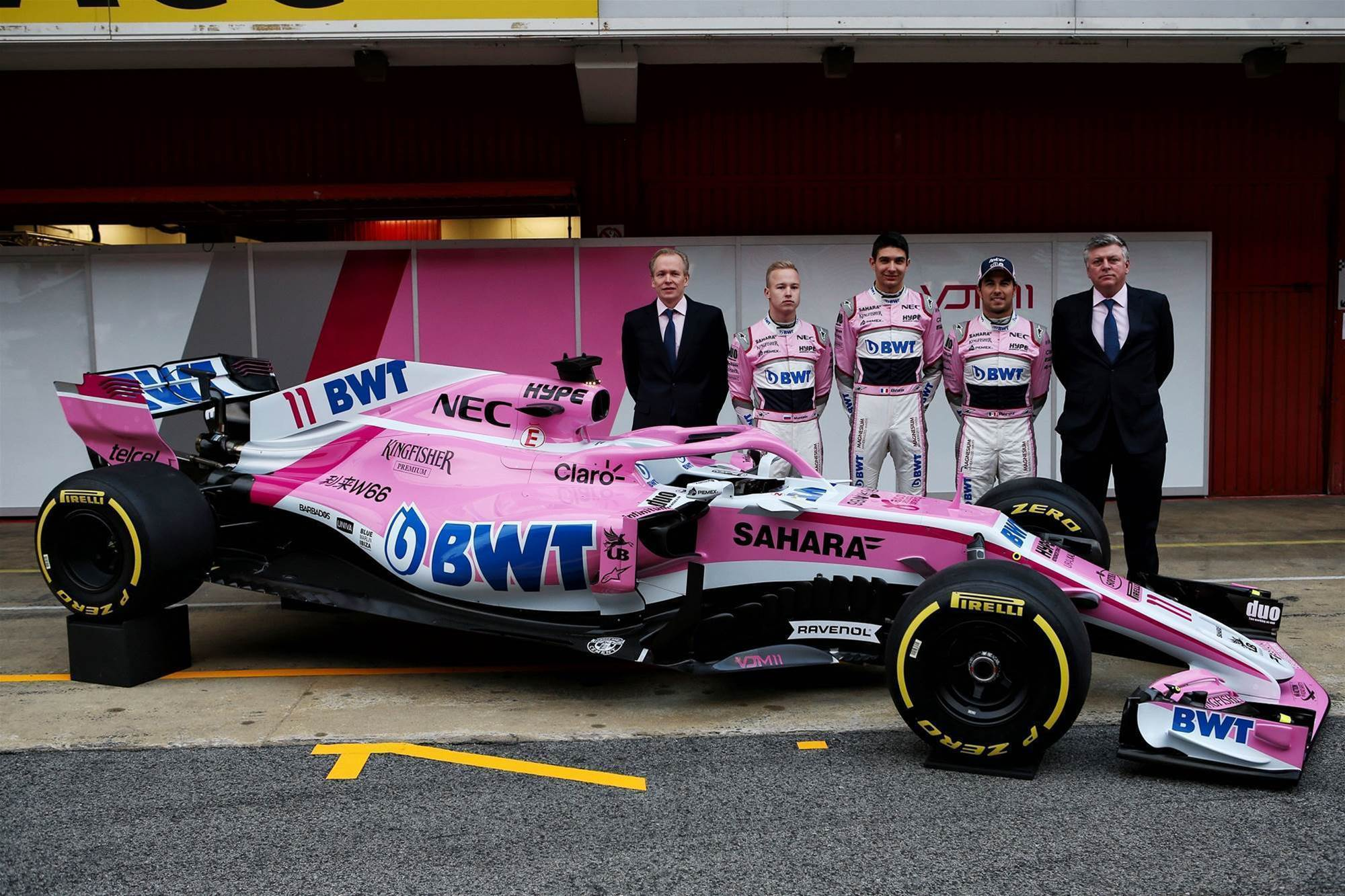 Pic gallery: new Force India