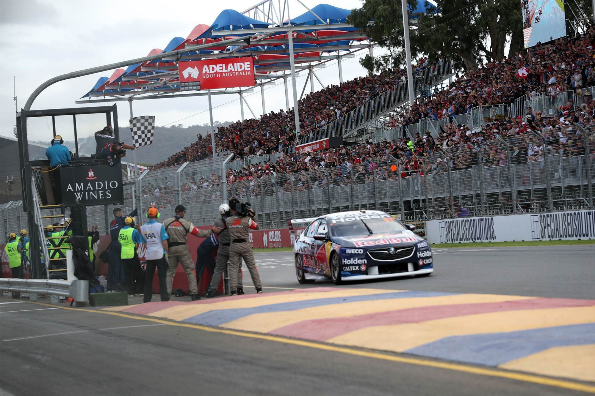 perfect start for new Holden Supercar