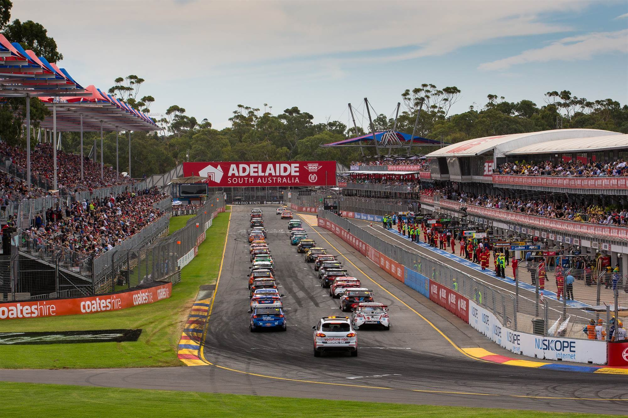pic gallery: on the grid at the Adelaide 500