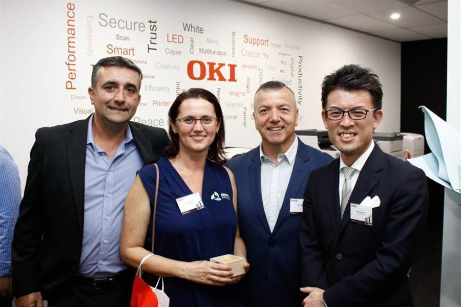 OKI Data opens new product centre for resellers and customers