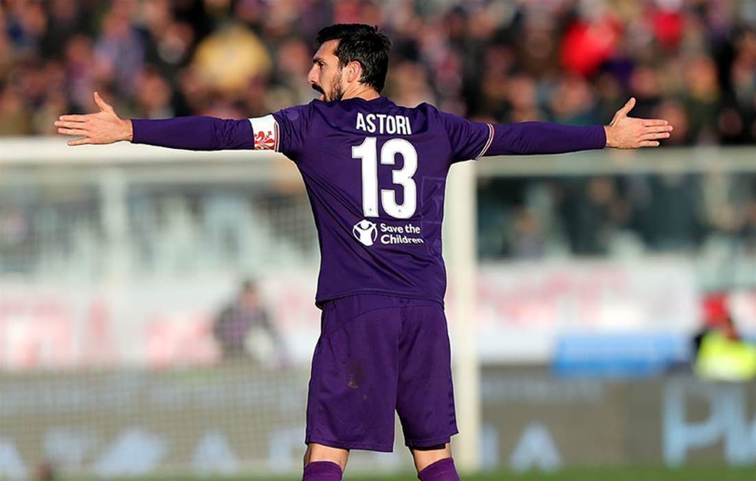 Gallery: Football farewells Davide Astori