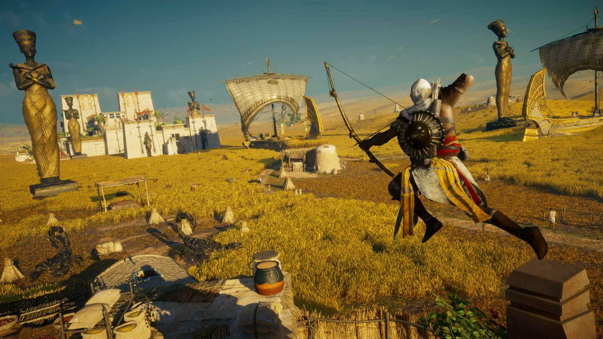 Curses! These Assassin's Creed Origins: Curse of the Pharaoh DLC assets will steal your eyes