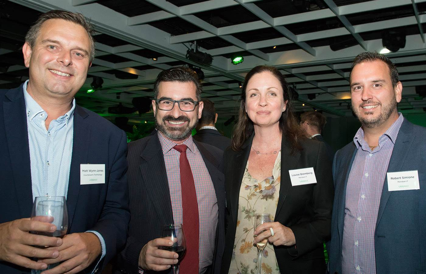 Australian resellers honoured at Veeam awards