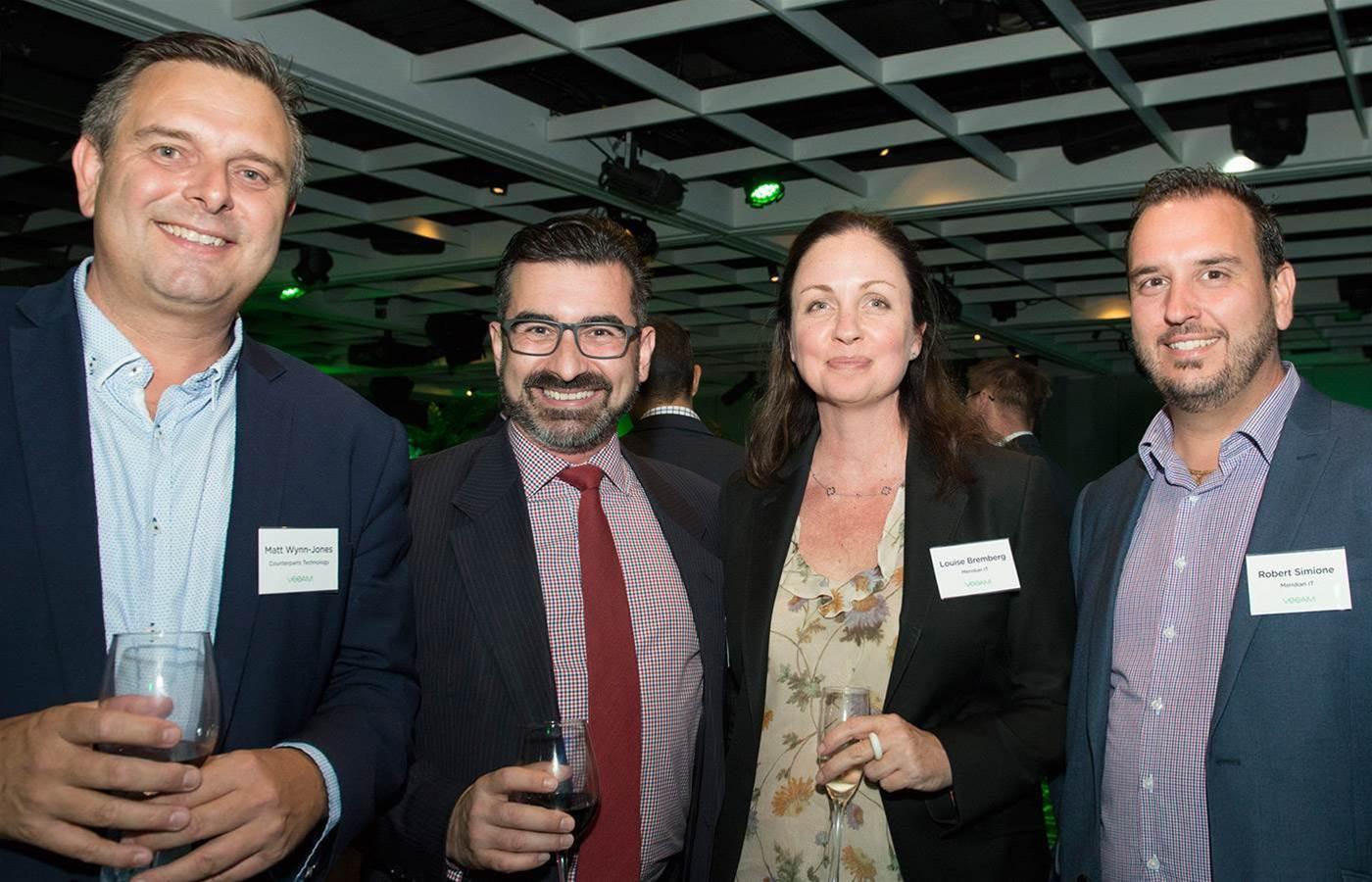 Australian Veeam partners celebrate year of growth at ProPartner awards dinner